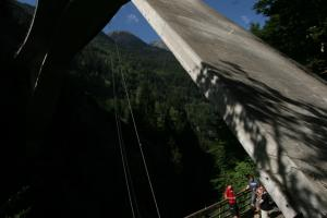 Pendule de pont au  Troulero
