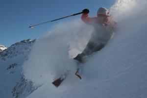 Ski au Col de Balme