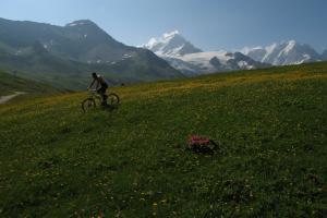 Vélo au Col des Posettes